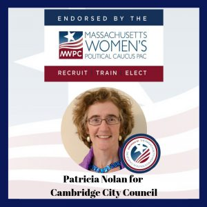 An image of Patty endorsed by the MWPC